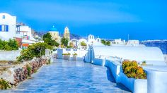 Santorini, Oia, Greece, Aegean, Architecture, Landscape