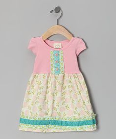 Take a look at this Cotton Candy Mya's Dress - Infant, Toddler & Girls by Swanky Baby Vintage on #zulily today!