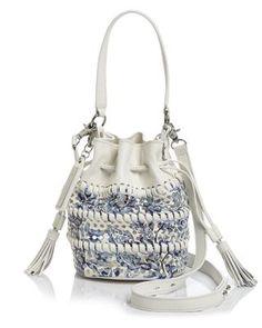 Loeffler Randall Perforated Mini Industry Bucket Bag | Bloomingdale's