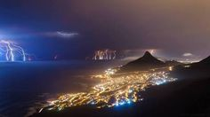 Cape Town nature strikes