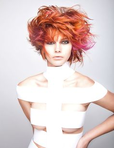 COLLECTION: Fifth Element Inspired Sci-Fi Hair by Joico