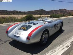 Photo 1955 Porsche 550 Spyder James Dean tribute