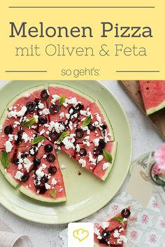 Pizza für Fitness-Foodies, Low-Carbler und Figurbewusste - oder einfach für warme Sommertage!