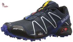 Salomon Speedcross 3 Cs, Chaussures de Trail homme, Bleu (Deep Blue/Black/G Blue), 43 1/3 EU - Chaussures salomon (*Partner-Link)