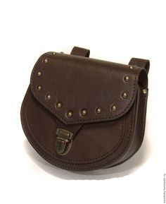 83d8169312e4 Купить Сумка поясная - коричневый, сумка на пояс, сумка поясная коричневая,  натуральная кожа