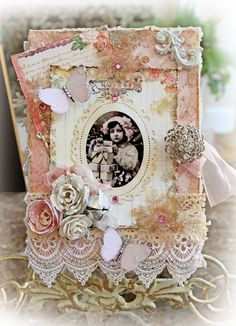 My Glitter Coated Life: Vintage Christmas Nook Book Box~