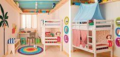 8 bonitas ideas para Habitaciones de mellizos