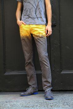 Bleached Pants by Simon Herzog | Project | Dyeing / Pants & Shorts | Kollabora