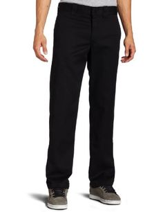 Dickies Mens Slim Straight Fit Work Pant