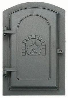 "8/"" x 12/"" Vestal 128 Cleanout Door Cast Iron"