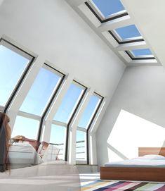 Verbouw de zolder met daglichtsystemen - Nieuws - Interieur en wonen | UW-woonmagazine.nl