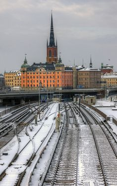 Stockholm in winter, Sweden  I miss Stockholm and Sweden soooo much!!