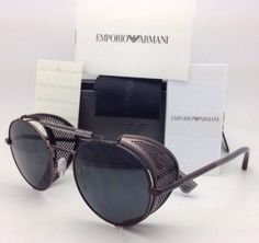 New-EMPORIO-ARMANI-Sunglasses-EA-2017-Z-3054-87-Gunmetal-w-Grey-w-Side-Shields