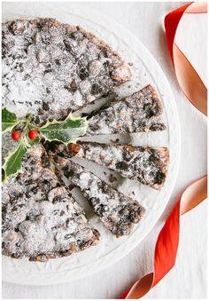 Chocolate Panforte | Vegan Christmas Cake Recipe