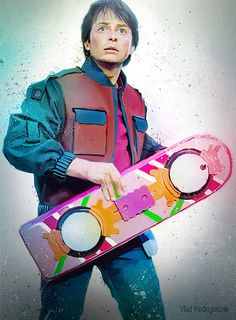 Marty Mcfly by Vlad Rodriguez