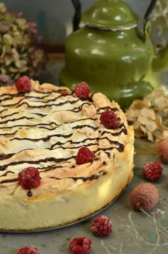 Good Food, Yummy Food, Healthy Food, Sweets Cake, Pudding Cake, Polish Recipes, Cheesecakes, Dessert Recipes, Food And Drink