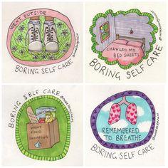 boring self-care