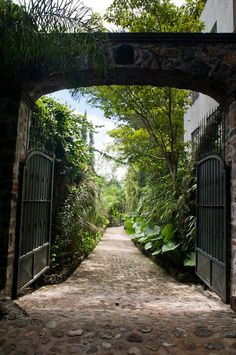 Drive way and entrance. Home in Jiutepec, Morelos, Mexico