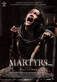 Pascal Laugier's Martyrs (Mártires) from 2008 is a must for your Halloween horror binge. if you want to get really, really messed up Foreign Movies, Sci Fi Movies, Scary Movies, Good Movies, Horror Movie Posters, Cinema Posters, Horror Movies, Film Posters, Movie Covers