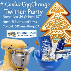 #CookieEggChange Twitter Party with Burnbrae Farms -