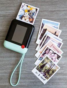 Poloroid Camera, Mini Camera, Polaroid Printer, Portable Photo Printer, New Technology Gadgets, High Tech Gadgets, Accessoires Iphone, Instant Camera, Instant Polaroid