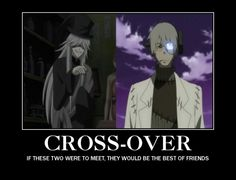 must know how life would be XD #black butler #soul eater