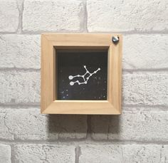 Zodiac constellation framed papercut art Virgo zodiac by KPCuts