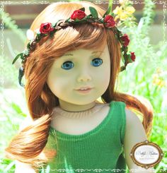 Customized MYAG doll with Ginger wig with bangs.  She is available for sale