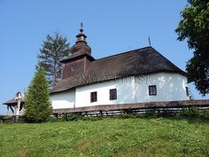 Kalna Rostoka Muzeum.SK - Drevené kostolíky na Slovensku