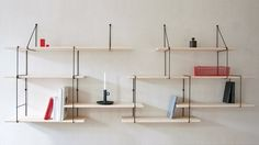 Classic modular kink shelving