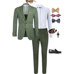 Menswear for the Kentucky Derby (with bow tie options)!