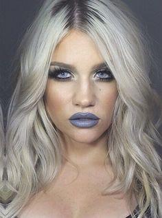 Gray lipstick yess!!!