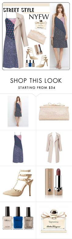 """""""Untitled #442"""" by veronica7777 ❤ liked on Polyvore featuring DVF, Judith Leiber, Wild Diva, Marc Jacobs, Salvatore Ferragamo, women's clothing, women, female, woman and misses"""