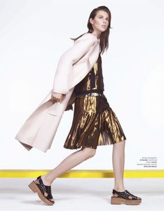 anais lofficiel mexico1 Anais Pouliot Stars in Debut Issue of LOfficiel Mexico by Andrew Yee