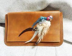 RiRiPoM Boho Clutch Gypsy Clutch Crossbody Bag Leather