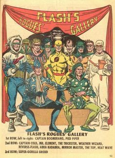 Do you think The Flash can show us a certain amount of Rogues members) Reverse-Flash (Eobard Thawne specifically) and Gorilla Grodd at the same time? We are getting a whole Suicide Squad movie this summer so let's see how that goes. by flezra Comic Book Covers, Comic Books Art, Comic Art, Book Art, Cartoon Books, Captain Boomerang, Joker Comic, Arte Nerd, Reverse Flash