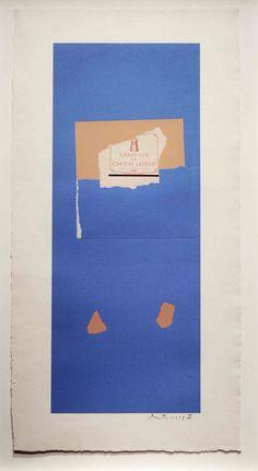 Summer Light Series: Pauillac, #4  Robert Motherwell   1973