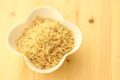 Brown Rice Brown Rice is considered to be a much healthier alternative for white rice and it goes fantastically well with some of our meals.