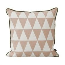 Coussin design bleu ferm living little geometry 7307