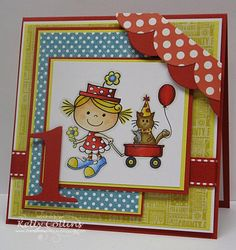Circus Fun! by stinkincute - Cards and Paper Crafts at Splitcoaststampers