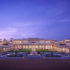 Rambagh Palace, Jaipur | 14 Of The Most Expensive Hotels In India