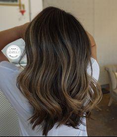 #balayage #brunette #brunettebalayage