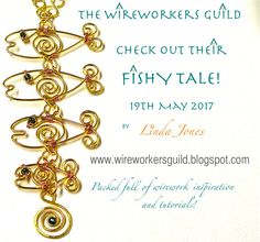 Fish shaped tutorial on The WireWorkers Guild blog