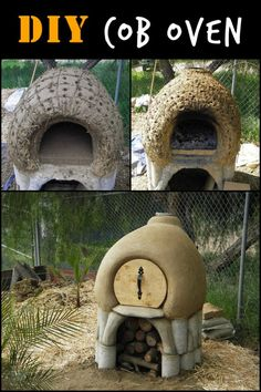 This Cob Oven May Look Like a Pixie House, But it Allows You to Bake Homemade Pizza for Years Oven Diy, Diy Pizza Oven, Pizza Oven Outdoor, Outdoor Cooking, Pizza Ovens, Build A Pizza Oven, Camping Cooking, Cob Building, Clay Oven