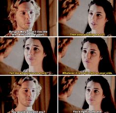 [gifset] #2x06 #ThreeQueens #Frary