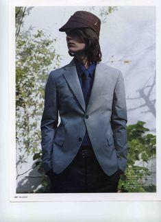 Boys Long Hairstyles, Pretty Boys, Men Fashion, Gentleman, Suit Jacket, Skinny, Long Hair Styles, Suits, Model