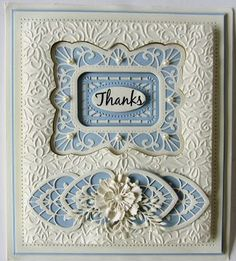 Hi bloggers! The Ornamental Accents die set is a very versatile and useful set of dies. Today's video shows you how to use the as a pretty border for your card projects. The