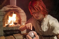 Kvothe, making his first lantern