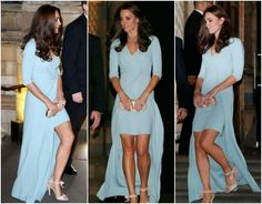Kate Middleton Shines in Baby Blue on First Red Carpet Since Pregnancy Announcement | Vanity Fair
