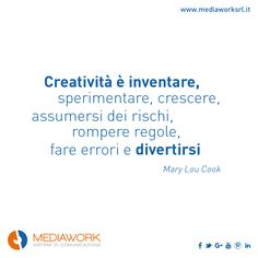 Be creative is a way of life! #creativity #agencylife